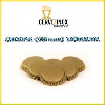 Chapa 29mm Dorada